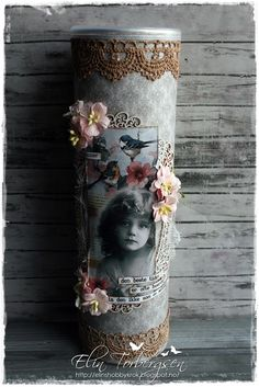 1 million+ Stunning Free Images to Use Anywhere Altered Tins, Altered Bottles, Decoupage Jars, Pringles Can, Recycle Cans, Arts And Crafts, Paper Crafts, Free To Use Images, Heartfelt Creations