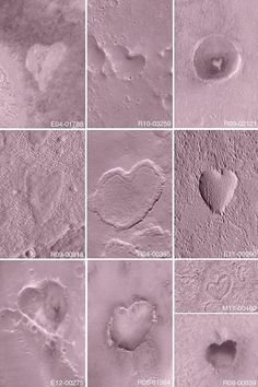Craters on Mars :D