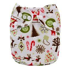 Alva Baby Christmas Design Reuseable Washable Pocket Cloth Diaper Nappy + 2 Inserts Q15 ALVA http://www.amazon.com/dp/B00P8KC0PA/ref=cm_sw_r_pi_dp_cjKDub0MRDRK1