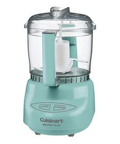 Look what I found on #zulily! Turquoise Mini-Prep Plus Food Processor by Cuisinart #zulilyfinds
