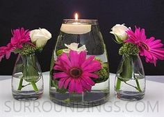 Great idea for your centerpieces!