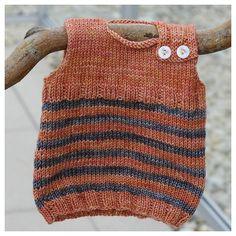Made this... Great baby present! Ravelry: Baby Newborn Magic Troll Vest pattern by Eba Design