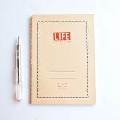L!FE B6 Vermillion Notebook by Izola