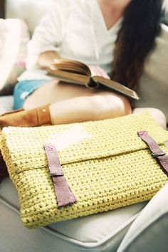 Crochet Laptop Sleeve - Tutorial