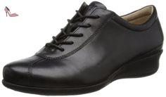 Ecco Ecco Abelone, Mocassins femme - Noir (Black 01001), 40 EU - Chaussures ecco (*Partner-Link)