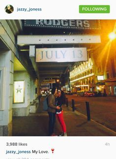 Jasmine Cephas Jones and Anthony Ramos ❣