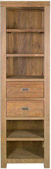 Tall Sheesham Wood Bookcase