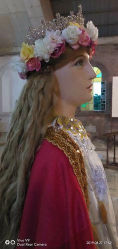 Llama Violeta, Saint Philomena, Vanitas, Blessed Mother, Holi, Faith, Peace, Princess, Dresses