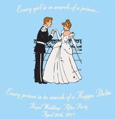 My two favorite things! Disney and Kappa Delta! <3