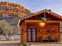 """Want to """"rough it"""" in style? Try Glamping at the Grand Canyon.  #ArizonaVacation #glamping Grand Canyon Cabins, Grand Canyon Hotels, Grand Canyon Vacation, Trip To Grand Canyon, Page Arizona, Visit Arizona, Canyon Road, Luxury Glamping, Luxury Cabin"""