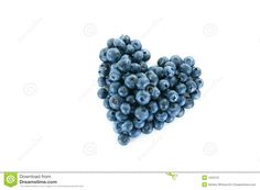 Blueberry Heart Royalty Free Stock Photography - Image: 1523137