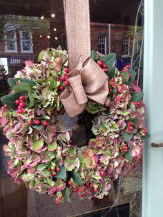 My work Lv My Flower, Flowers, Burlap Wreath, Christmas Wreaths, Holiday Decor, Shop, Home Decor, Decoration Home, Room Decor