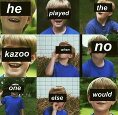 The most majestic kazoo player
