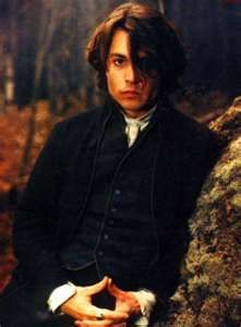 Johnny Depp Sleepy Hollow. Can I just go back in time, hug him, and never stop??