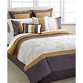 Nylo 8 Piece California King Comforter Set
