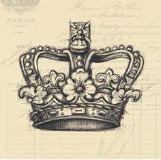 sketchy crown