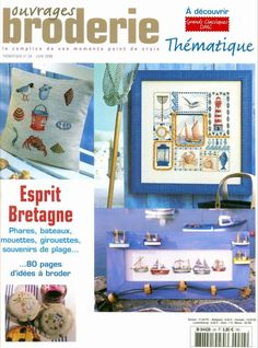 Gallery.ru / Фото #1 - №24 - Orlanda Beaded Cross Stitch, Cross Stitch Baby, Cross Stitch Embroidery, Cross Stitch Patterns, Cross Stitch Magazines, Cross Stitch Books, Magazine Cross, Ship In Bottle, French Beach