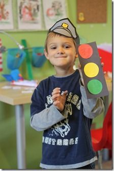 policeman unit - craft ideas and activities to go along