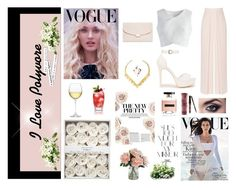 """VOGUE"" by kkristenlove on Polyvore featuring Nordstrom, Nly Shoes, Coast, Chicwish, Mansur Gavriel, Kylie Cosmetics, Victoria's Secret and Rika"