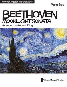 Moonlight Sonata | Sheet Music for Piano Solo - Play and Learn™ Series - CLICK HERE for more info http://makingmusicfun.net/htm/f_printit_free_printable_sheet_music/moonlight-sonata-piano-play-and-learn.htm