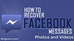 Are you looking for how to retrieve deleted Facebook messages. If yes, then here is a great guide to recover deleted Facebook messages, pictures and videos. #Facebook #Socialmedia