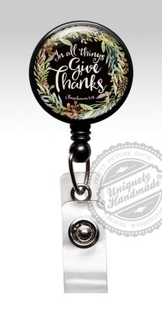 Listen to your Heart Lanyard ID Badge Reel Holder in 6 Colors