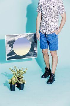 Curated looks from our Summer 2015 Lookbook. http://www.ezekielusa.com/pages/summer-2015  Photographer: Julian Berman  Models: Adam Kaszewski Jessica Morrow  #Ezekiel #Clothing #Style