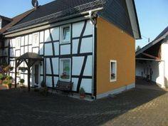 Fassadenanstrich am Fachwerkhaus von Malermeister Sascha Wevers in Neunkirchen-Seelscheid (53819) | Maler.org