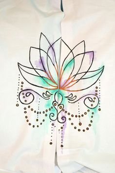 Hand Painted Lotus Pillowcases by JadedSphnix on Etsy Pillowcases, Traditional Art, Art Forms, Lotus, Body Art, Digital Art, Tapestry, Hand Painted, Unique Jewelry