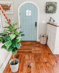 31 Gorgeous Modern Farmhouse Door Entrance Design Ideas - House Plans, Home Plan Designs, Floor Plans and Blueprints Style At Home, Entrance Design, Door Design, Entrance Rug, My New Room, Home Decor Inspiration, Decor Ideas, Decorating Ideas, Porch Decorating