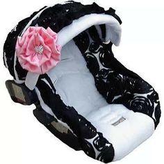 Super Cute Baby Girl Car Seat!