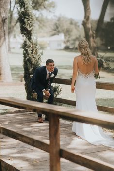 Wedding Styles sweet candid wedding couple first look - We love this wedding day so hard! Just wait until you see their first look! Wedding Goals, Wedding Pics, Wedding Couples, Summer Wedding, Destination Wedding, Wedding Dresses, Wedding Bride, Wedding Ideas, Wedding Planning