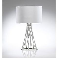 Love the wire work base of this Conran table lamp (from M)