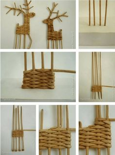 1 million+ Stunning Free Images to Use Anywhere Straw Weaving, Paper Weaving, Weaving Art, Basket Weaving, Diy And Crafts, Christmas Crafts, Christmas Decorations, Arts And Crafts, Christmas Ornaments