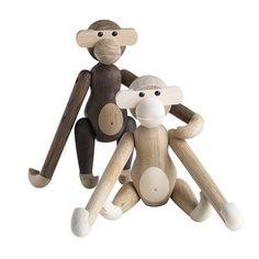 Kay Bojesen Wooden Monkey Small Smoked Oak