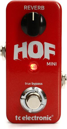 TC Electronic Hall Of Fame Mini Reverb Pedal with TonePrint | Sweetwater.com