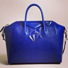 Givenchy Antigona cobalt blue