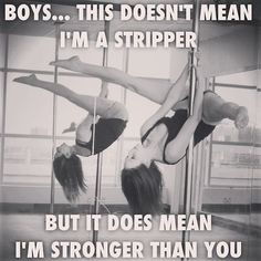 This does not mean i a stripper