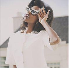 Hunger Magazine S/S 2013 Features Mercura NYC Pearl Sunglasses  #published in #hunger #photographer @robertjohnkley #stylist @Jimi Urquiaga #makeup @Homa Safar #hair @rachelleroberson #nails @mariamgaray #photograph #fashion #fashionphotography #beauty #photogenics #milan #nailart #prada #robertocavalli #marni #bibhumohapatra #liesangbong @laruicci #laruicci #spring #dolce #spring #summer #2013 #ss13 #fashioneditorial #editorial #mercuranyc