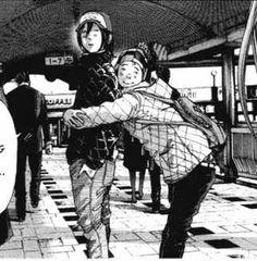 """Seki and Shimizu from """"Oyasumi Punpun"""""""