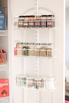How to Organize a Small Pantry! #PantryOrganization #spiceorganization #kitchenorganization #TheContainerStore #AlfaCloset #SmallPantryOrganization #ClosetOrganization