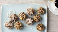 No Bake Chewy Truffle Cookies