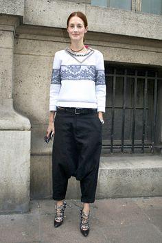 速報! 2012-13年秋冬パリコレクション会場スナップ Part2。 | スナップ | ファッション | VOGUE