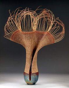 ...marc jenesel...ceramist....karen pierce...fiber artist..willow bend studios....colorado springs..colorado...