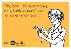 Truth of being a Hockey Mom