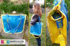 Ikea-Upcycling Tasche a la hoseware