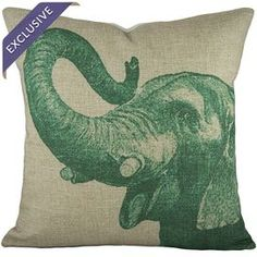 """Transform your home into a plush bohemian retreat with this beautifully crafted pillow.   Product: PillowConstruction Material: Linen blendColor: Green and ivoryFeatures:  Handmade by TheWatsonShopInsert includedEnvelope closure Dimensions: 16"""" x 16""""Cleaning and Care: Dry clean only"""