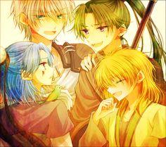 Akatsuki no Yona ~ The First Generation Dragons!!!