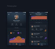 Sport Tracking App on Behance