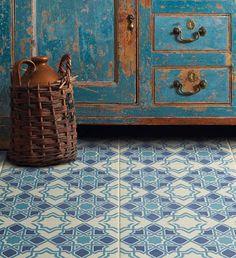 Bolero Odyssey Victorian tile  pattern.